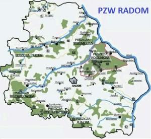 PZW Radom - mapa